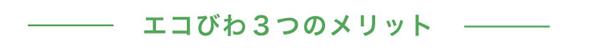 滋賀県廃棄物適正管理協会 エコびわ3つのメリット